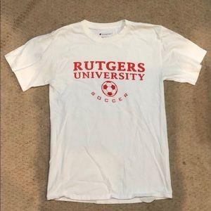 COPY - Rutgers soccer T-shirt